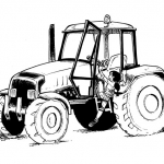 agricultrice-tracteur